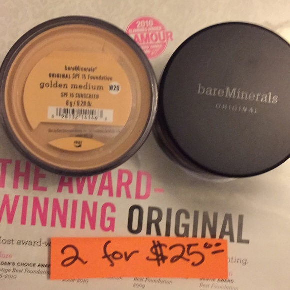 bareMinerals Other - Bare Mineral Foundatio Golden Medium